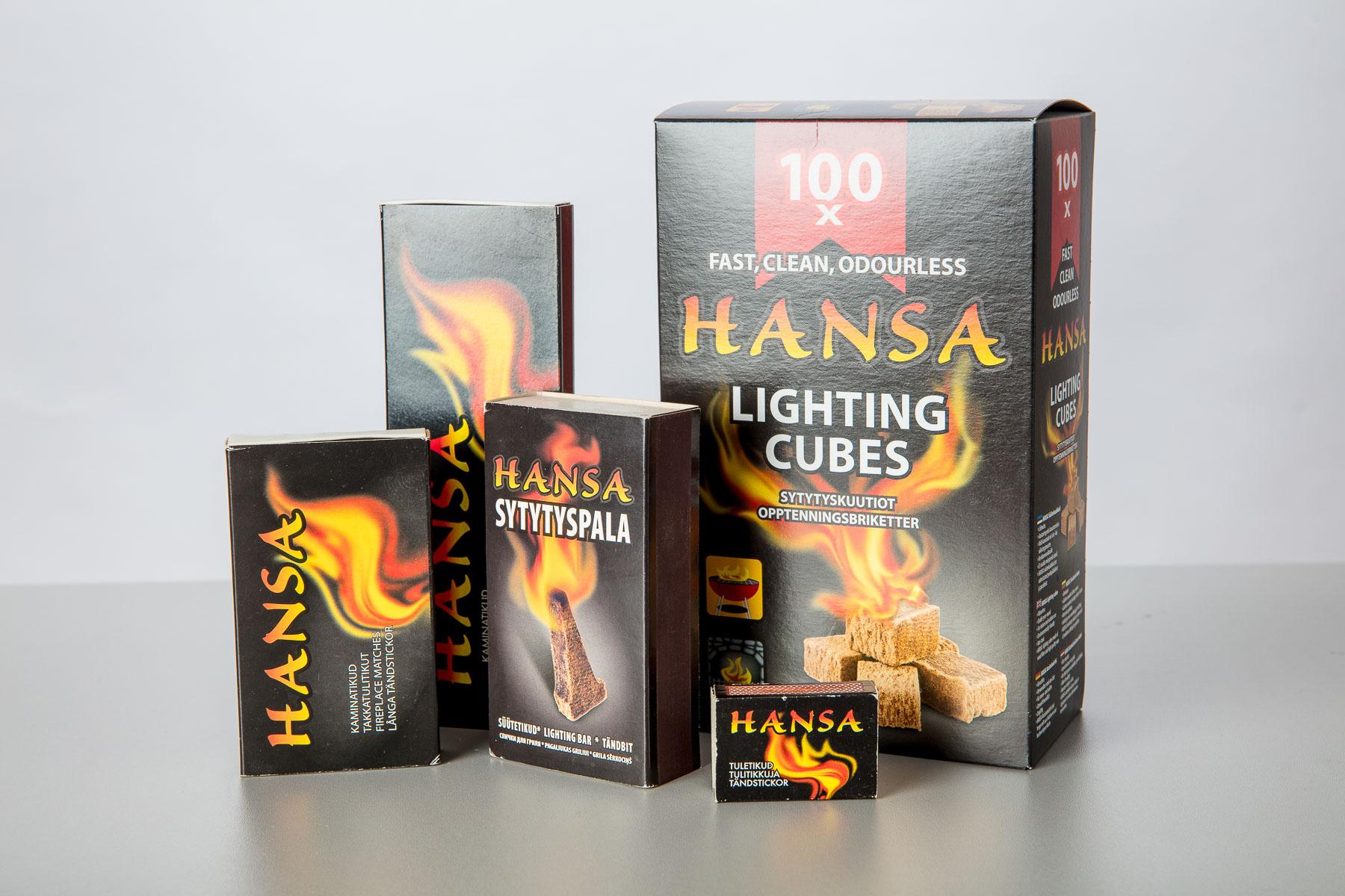 Hansa tooteseeria - Hansa Candle AS