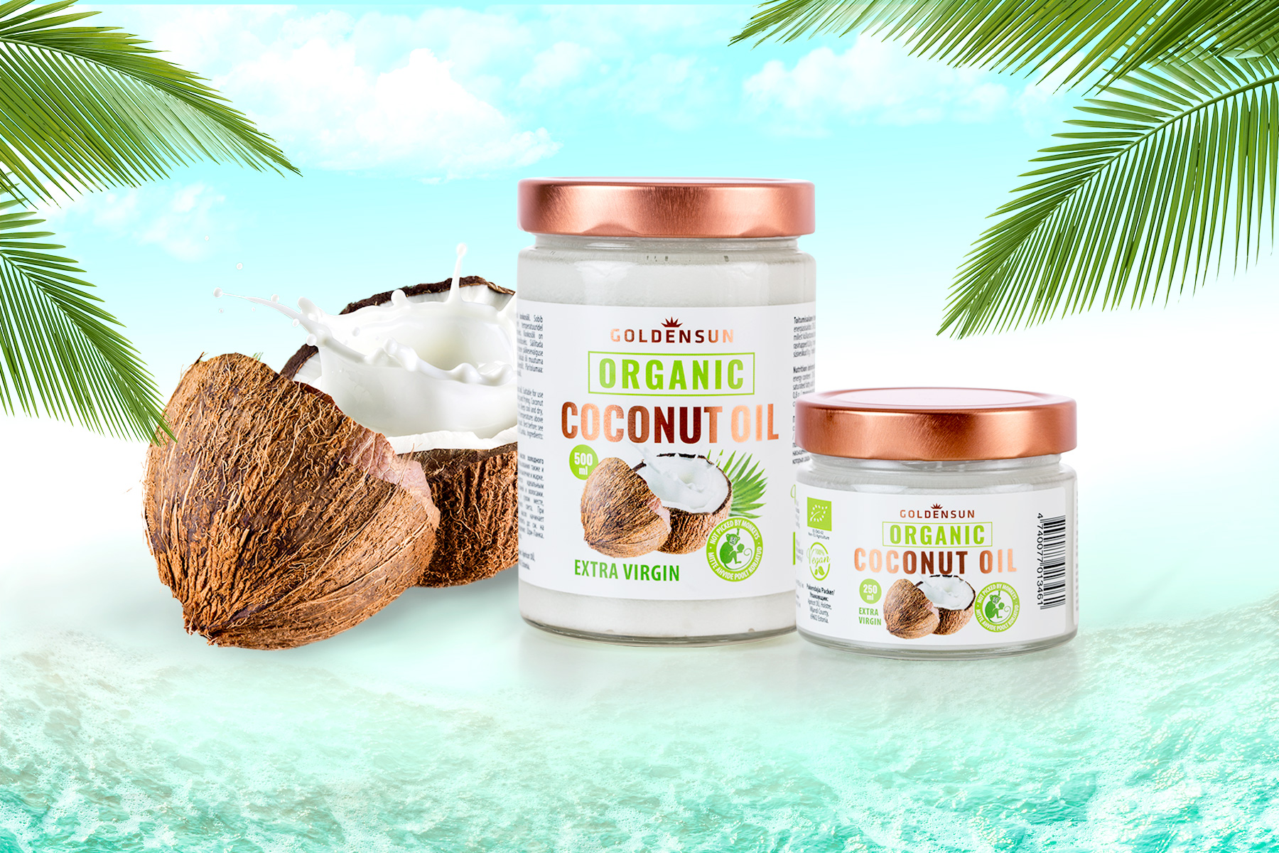 Golden Sun Coconut Oil