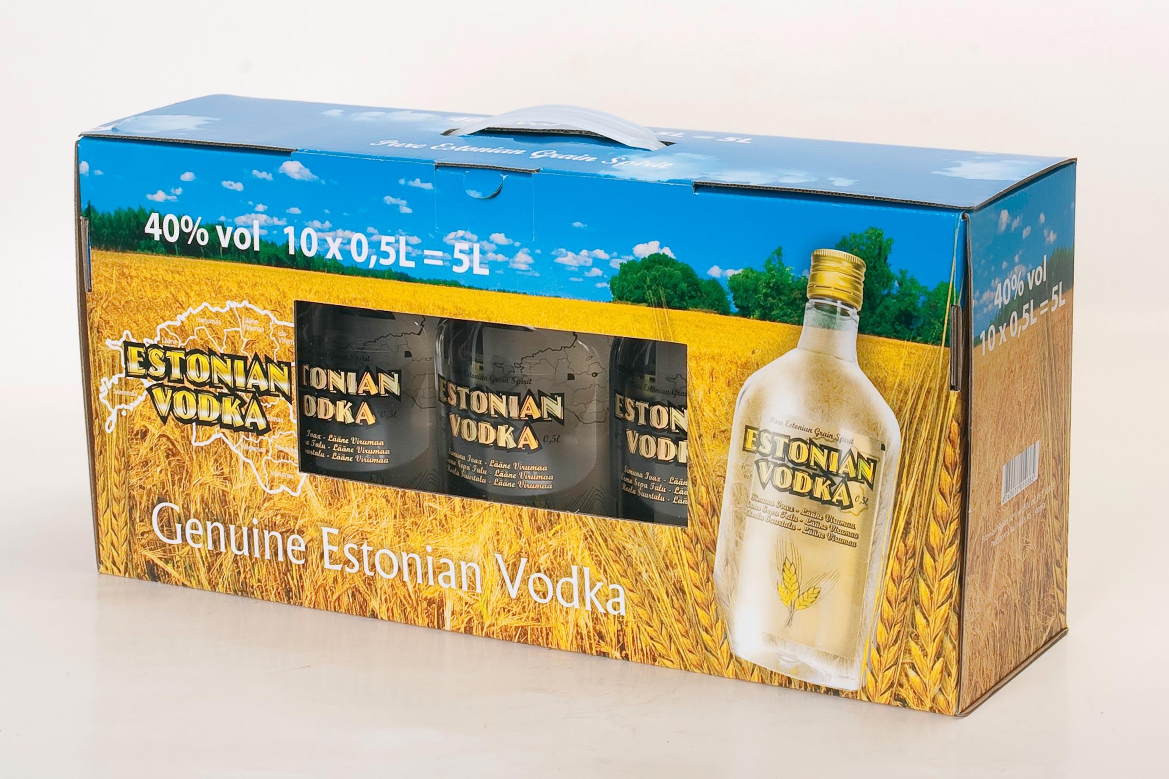 Estonian Vodka - Liiwi AS
