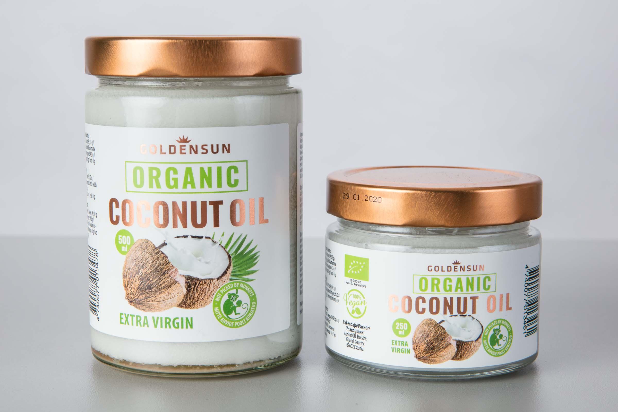 Golden Sand Organic Coconut Oil - Apricot OÜ