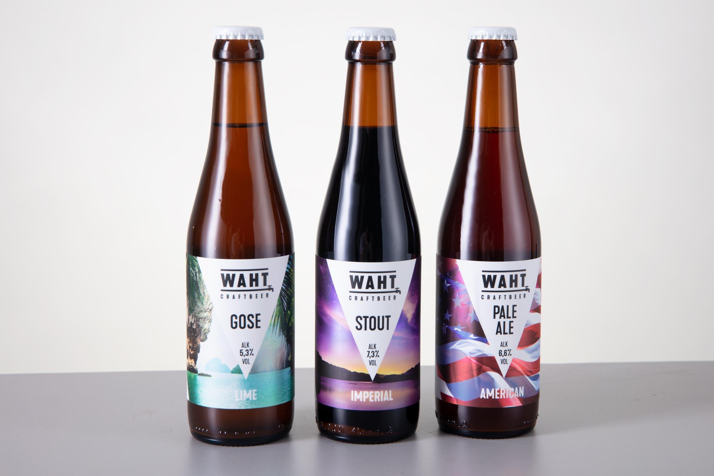 Käsitöö õllede tooteseeria Waht - Craftbeer OÜ