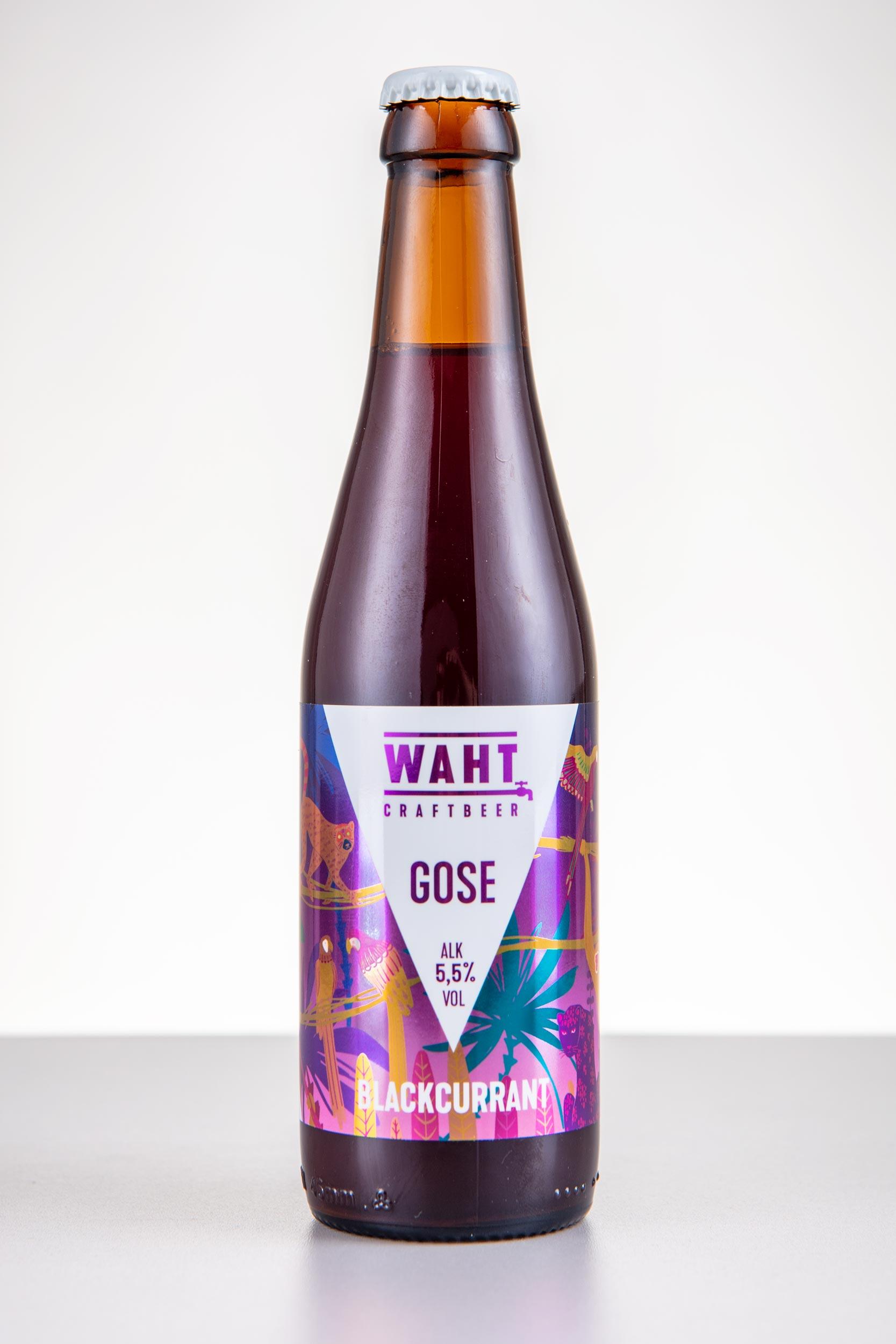 Käsitöö õlu Waht Gose Blackcurrant - Craftbeer OÜ
