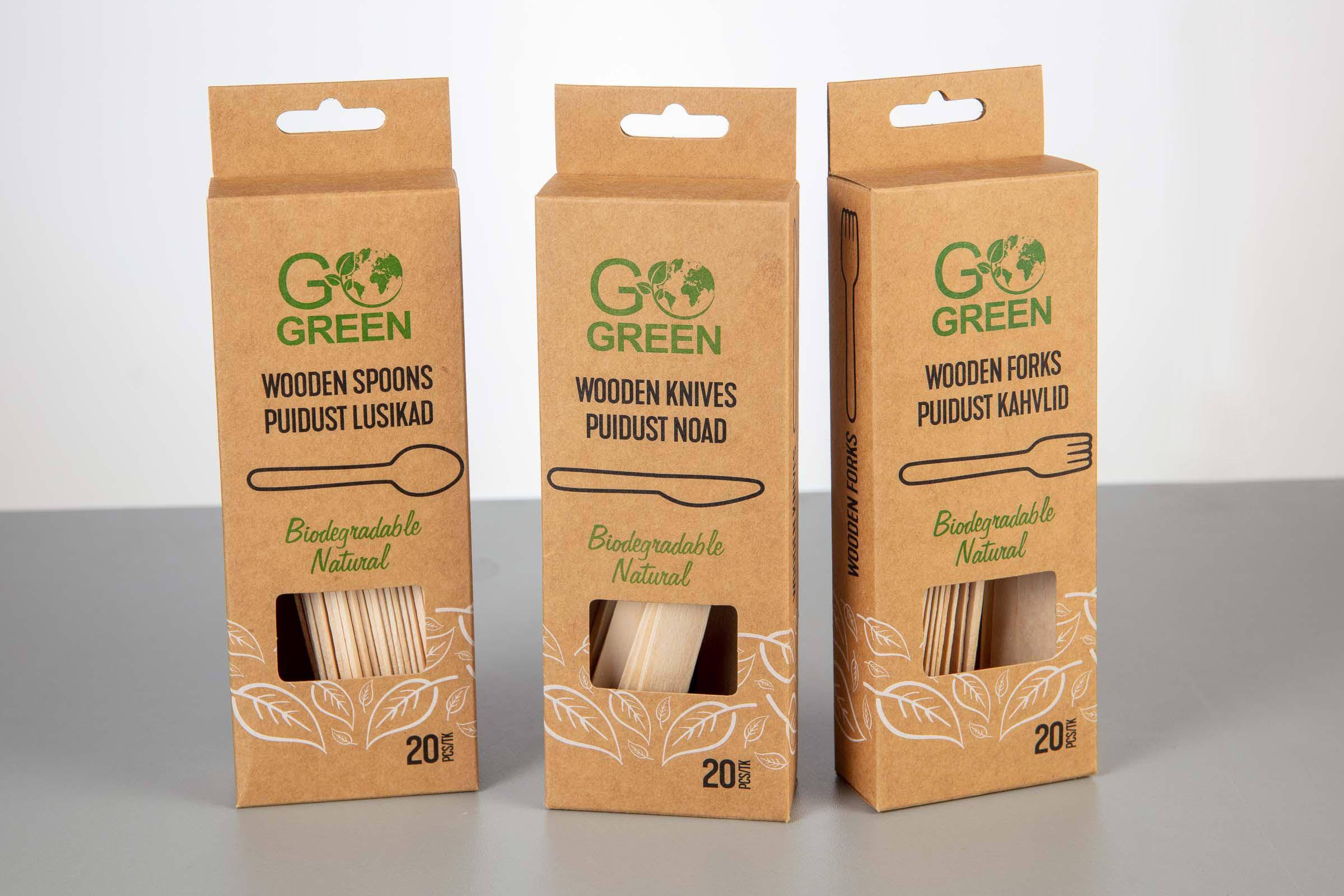 Go Green Cutlery
