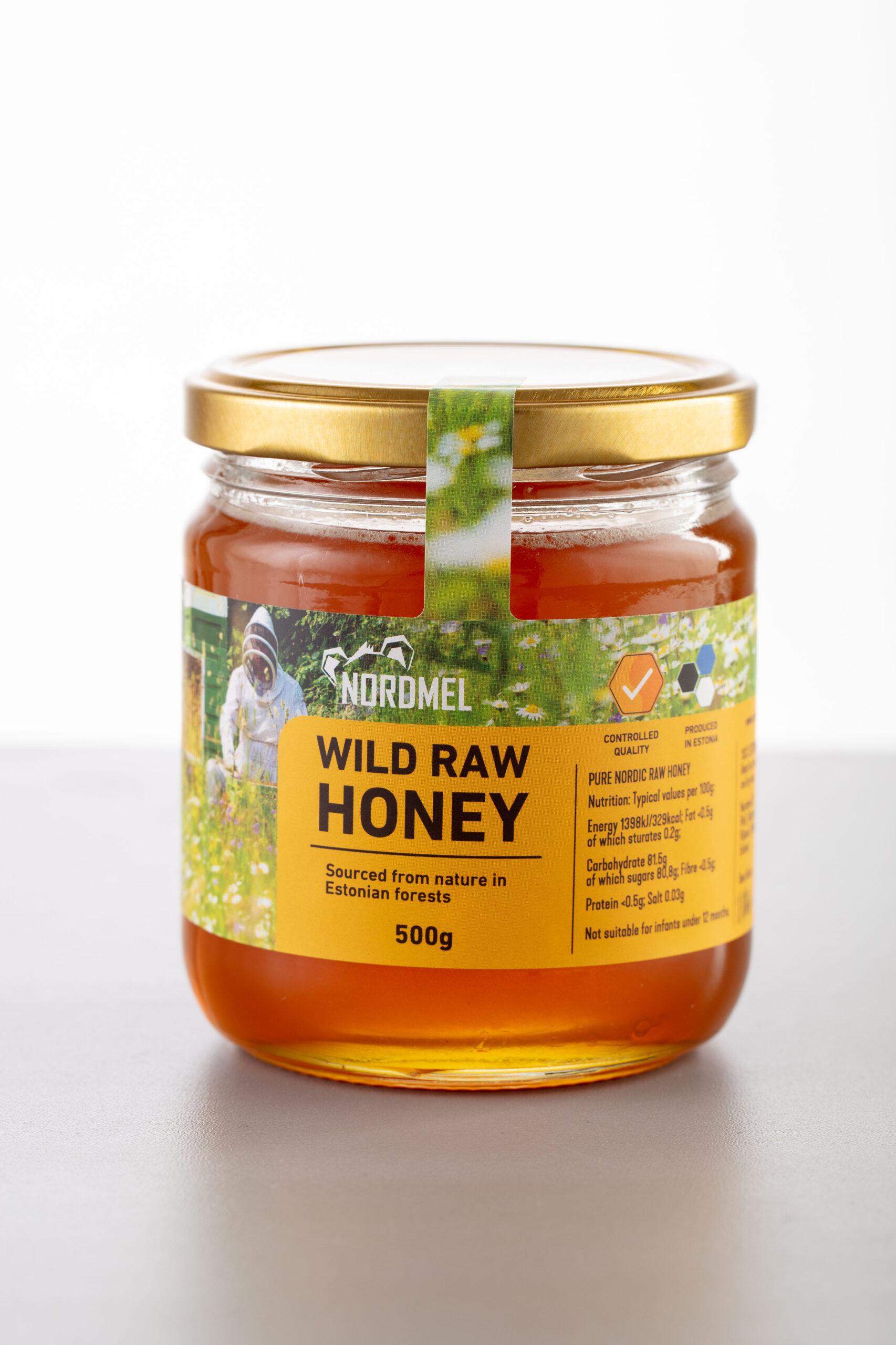 Nordmel OÜ - Wild Raw Honey