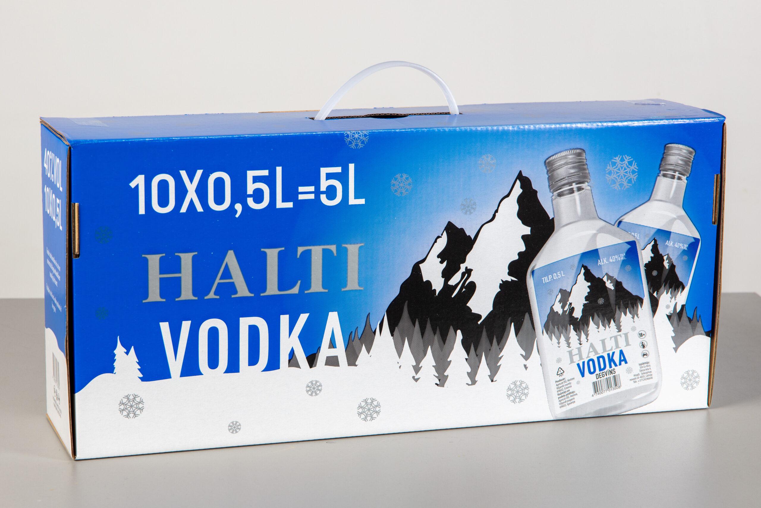 Halti Vodka - Apricot OÜ